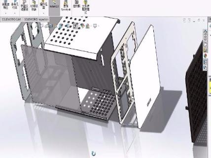 一体全铝铸造电竞机箱