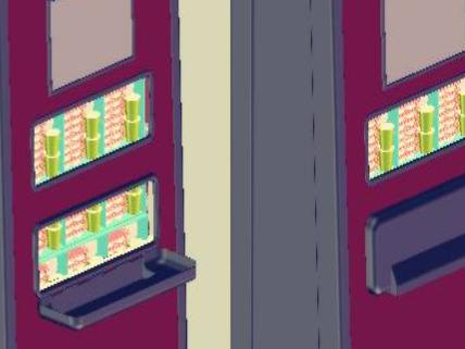 高容积智能餐饮自售机
